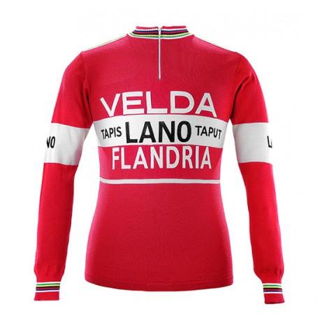Freddy Maertens 1978 Velda-Flandria s dlouhým rukávem Jersey